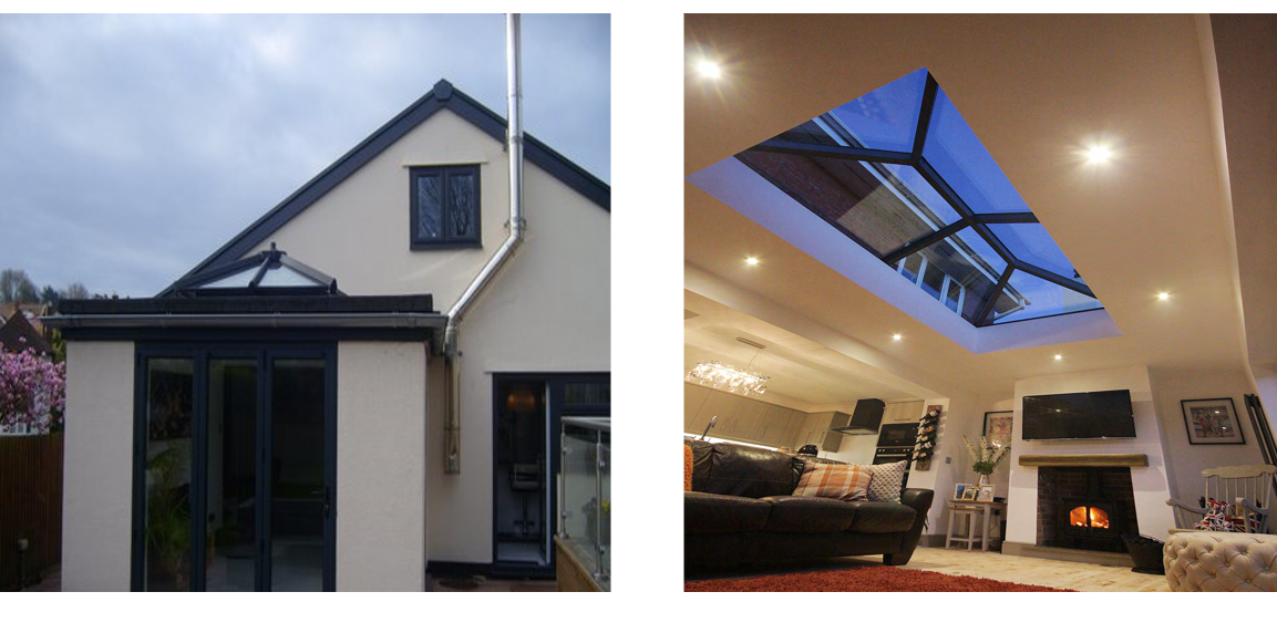 Flat Roof Lanterns, Skylights, Glass Roof Lights Portsmouth, Hampshire