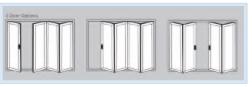 Bi-Fold Doors - 45 door options